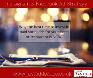 Hotel and restaurant paid social ads